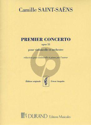 Concerto No.1 A-minor Op.33 Violoncello-Piano
