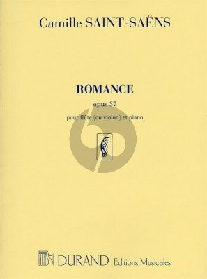 Romance Op.37 Flute or Violin and Piano