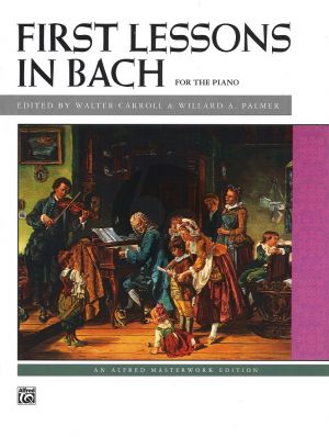 Bach-Carroll First Lessons piano