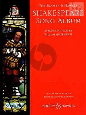 Shakespeare Song Album voice-piano