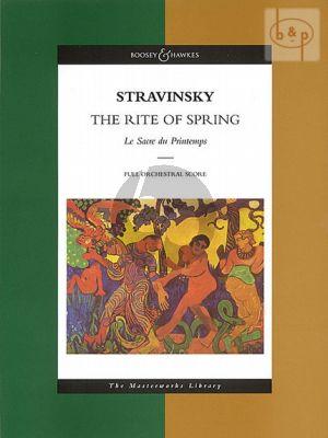 The Rite of Spring (Sacre du Printemps)