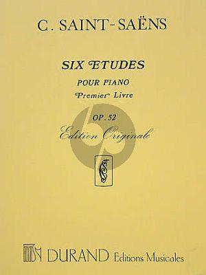 6 Etudes Op.52 Premier Livre Piano