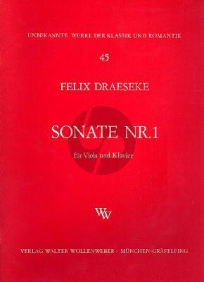 Sonata No.1 c-moll Viola und Klavier