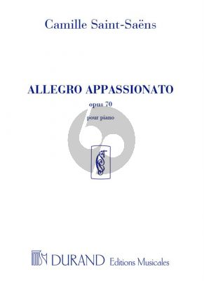 Saint-Saens Allegro Appassionato Op.70 Piano seule