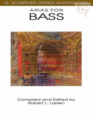 Opera Anthology Arias for Bass