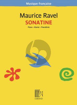 Ravel Sonatine Piano seul (1905)