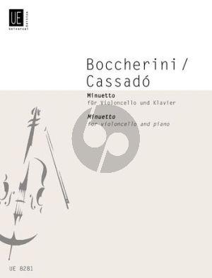 Boccherini Minuetto from Quintet A-major G.308 Violoncello and Piano (transcr. by Gaspar Cassado)