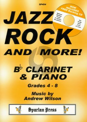 Wilson Jazz Rock & More Clarinet-Piano (Bk-Cd)