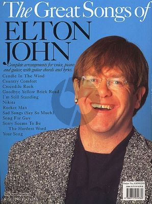 The Great Songs of Elton John (Piano-Vocal-Guitar)