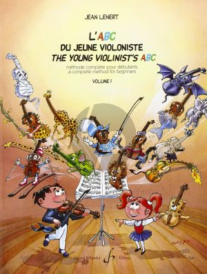 Young Violinist's ABC / L'ABC du Jeune Violoniste Vol.1