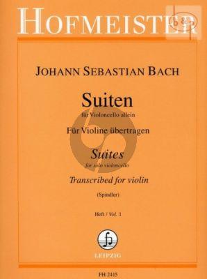 6 Suiten Vol.1 (No.1 - 3)