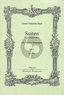 6 Suiten Vol.2 Violin