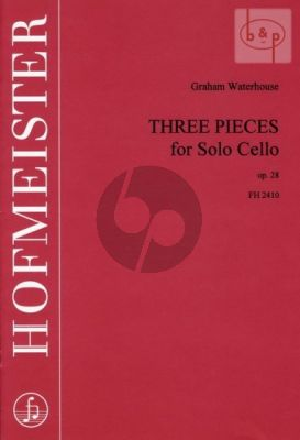 3 Pieces op.28 Violoncello allein