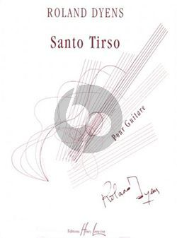Dyens Santo Tirso pour Guitare