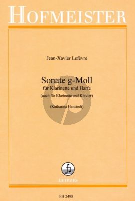 lefevre Sonate g-moll Klarinette-Harfe (oder Klavier) (Katharina Hanstedt)