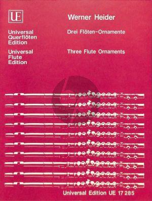 Heider 3 Flöten - Ornamente Flöte solo