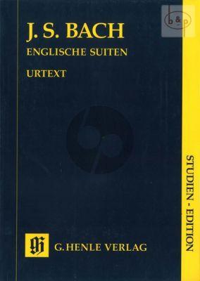 Englische Suiten BWV 806 - 811 (Study Score)