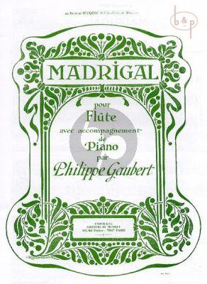 Madrigal Flute-Piano