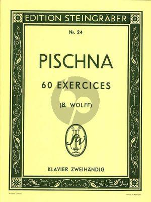 Pischna 60 Exercises Progessifs Klavier (Bernhard Wolff und Hugo Riemann)