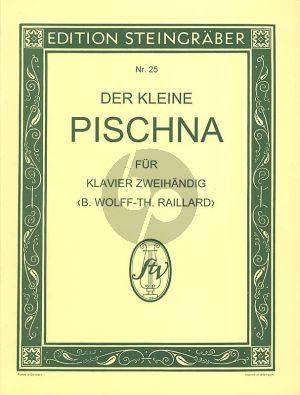 Der Kleine Pischna Klavier (Einleitung zu Pischna 60 Exercises) (Bernhard Wolff und Theodor Raillard)
