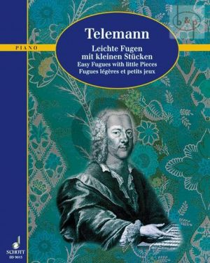 Telemann Leichte Fugen mit kleinen Stucken (edited by Hugo Ruf)