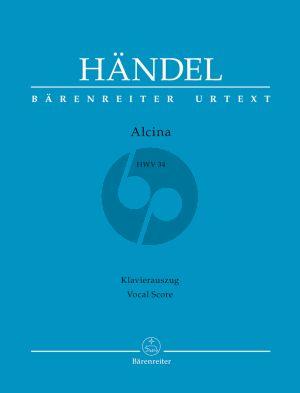 Handel Alcina HWV 34 (KA) (ital./deutsch) (ed. Siegfried Flesch)