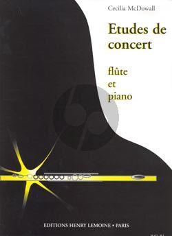 McDowall 3 Etudes de Concert Flute et Piano