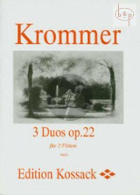 3 Duos Op.22 2 Flutes
