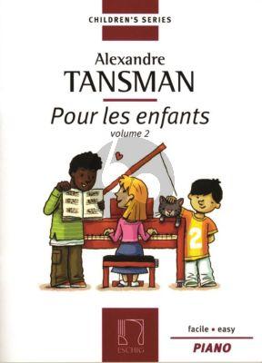 Tansman Pour les Enfants Vol.2 Piano (Facile -Easy)