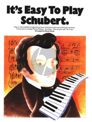 It's Easy to Play Schubert Piano