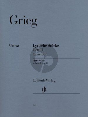 Grieg Lyrische Stucke Vol.2 Op.38 (Henle-Urtext)