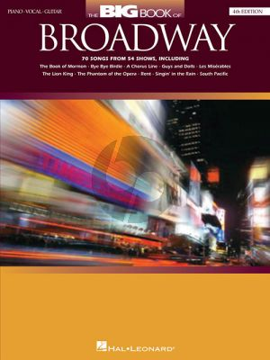Big Book of Broadway (70 Songs from 54 Shows)