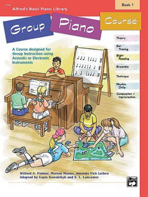 Alfred Basic Group Piano Course Vol.1