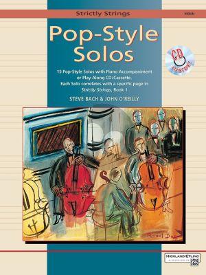 Pop-Style Solos Violin (Bk-Cd)