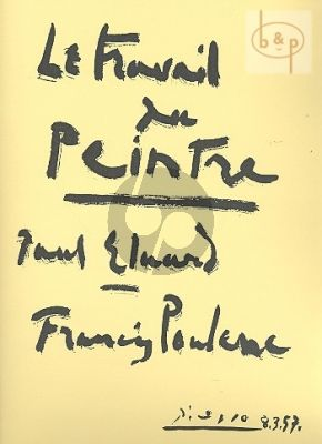 Poulenc Travail du Peintre (Medium-High) (Poemes Paul Eluard)