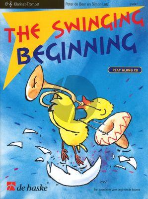 Boer-Lutz Swinging Beginning for Clarinet / Trumpet Bk-Cd (Grade 1)
