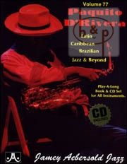 Jazz Improvisation Vol.77 Latin, Brazilian, Caribbean, Jazz & Beyond