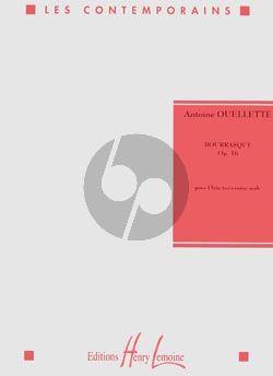 Ouellete Bourrasque Op. 16 Flute seule
