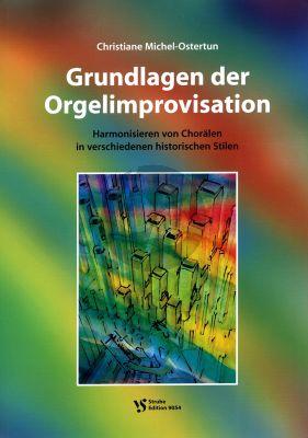 Michel-Ostertun Grundlagen der Orgelimprovisation (2 Teilen Lehrbuch + Lösungsbuch)