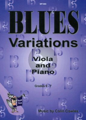 Cowles Blues Variations for Viola and Piano