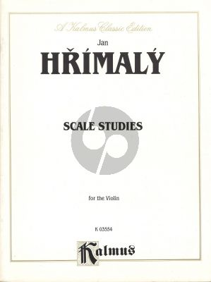 Hrimaly Scale Studies Violin