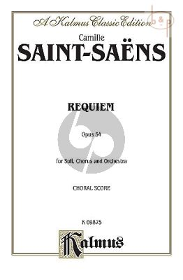 Requiem Op.54 (Soli-Choir-Orch.)
