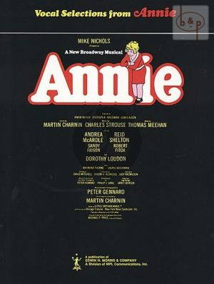 Strouse Annie vocalselection Piano-Vocal-Guitar (Broadway version)
