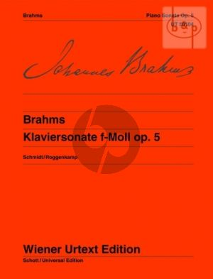 Sonate f-moll Op.5 Piano