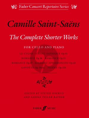 Saint-Saens Complete Shorter Works Cello-Piano (Isserlis/Ratner)