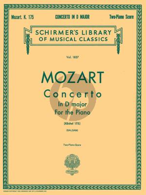 Mozart Concerto No.5 D-Major KV 175 (Edited for 2 Pianos by A Balsam)