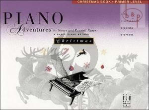 Piano Adventures Christmas Book Primer Level