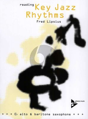 Lipsius Reading Key Jazz Rhythms (Eb Version Alt- oder Bariton-Saxophon) (Buch mit CD) Nabestellen