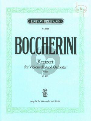 Concerto B-flat major (G.482)