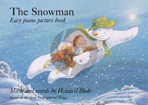 The Snowman Easy Piano Picture Book + Story